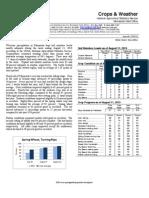 Aug. 12, 2013 Crop Report