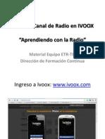 Crear Un Canal de Radio en IVOOX
