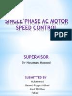 ac motor speed control
