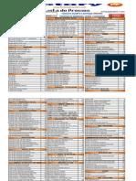 LISTA PRECIO FACTORY   PC SISTEM  Nª  2