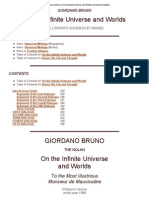 Giordano Bruno- On the Infinite Universe