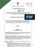 Decreto 4747 07122007