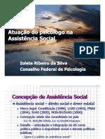 Atuação do Psicólogo na assistência social