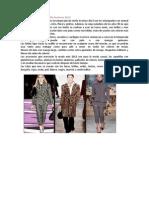 Tendencias de Moda Otoño Invierno 2013