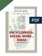Encyclopedia of Social Work in India Volume III
