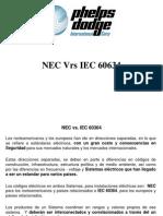 NEC vs. IEC