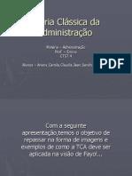 Teoria Clássica da Administração.ppt