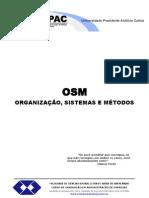 Apostila OSM Organizacao Sistemas e Metodos