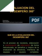 EXPOSICION EVALIACION DE 360°