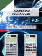 Calculator Techniques REX
