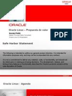 Oracle Linux - Propuesta de valor para SPD