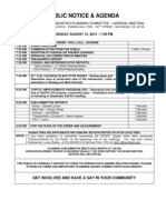 EACPC Mtg Agenda 08 13 2013