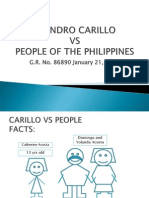 Carillo vs People