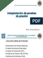 Interpretacion de Pruebas de Presion en Pozos Verticales Charla2