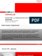 ORACLE VM La infraestructura de Cloud de Oracle