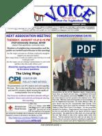 Fox Canyon Newsletter August 2013