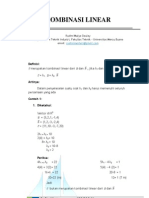 Kombinasi Linear-Probabiltas Dalam Teknik Industri