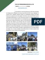 Xii Peregrinacion en La Fe 2013