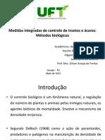 Medidas integradas de controle de insetos e ácaros