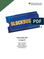 Blockbuster Current Analysis