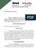 CONTRA NOTIFICAÇÃO3- LARISSA
