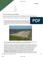Planes y Politicas de Las Ciudades -CafeCdades