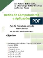 Aula47 - Camada de Aplicacao DNS