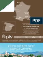 P&V- Golf Brochure 2009