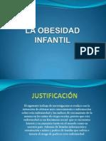 La Obesidad Infantil Diapositiva
