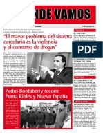"Mensuario ""A Donde Vamos"" n° 32 - Agosto 2013"