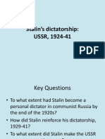 Stalin's dictatorship