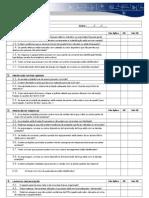 Check list inspeção máquinas Modelos