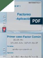 Clase 1factoreo