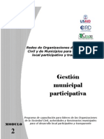MOD2-Gestion Municipal Participativa