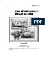 FM 3-90.2 the Tank and Mechanized Infantry Battalion Task Force