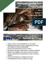 Tema 6- Karst Hydrogeology Presentation-Esp Final