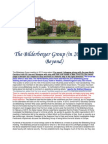 The Bilderberger Group (in 2013 and Beyond)