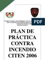 Plan de Practica Contra Incendios