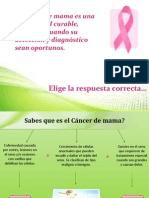 Cancer de Mama PREVENCION