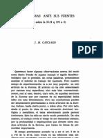 J.M. Casciaro, Santo Tomas Ante Sus Fuentes