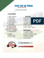 Roster Indios de La Vega 2013