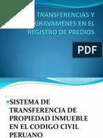 Diapositivas de Transferencias y Gravamenes en El Registro de Predios[1] (1)
