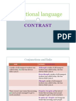Functional Language_expressing Contrast