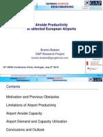 Branko Bubalo - Airside Productivity of Selected European Airports - Porto 2010