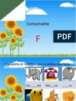 Consonante F