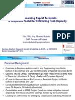 Benchmarking Airport Terminals