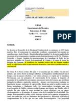 100 AÑOS DE MECANICA CUANTICA CHILE