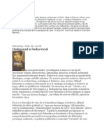 Articole Mihail Sebastian