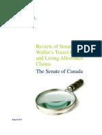 Deloitte audit report of Pamela Wallin