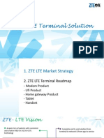 ZTE LTE Termianl Solution